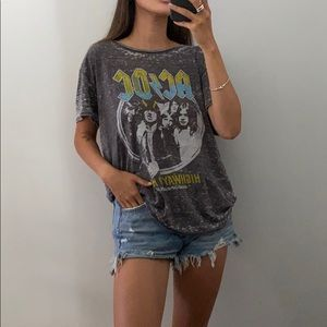 ARITZIA: Junk Food AC/DC graphic shirt